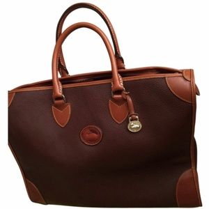 Dooney & Bourke Dark Brown/British Tan Weekender